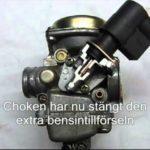 Fonctionnement du starter automatique sur carburateur cvk