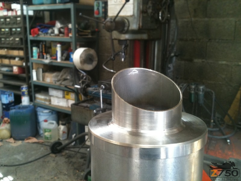 fabrication d un pot maison scooter chinois 4t